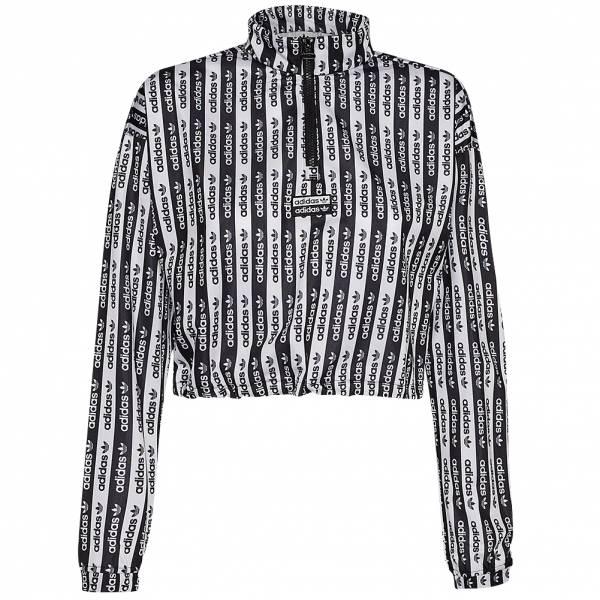 adidas Originals 1/2 Zip Cropped Damen Sweatshirt FM2479