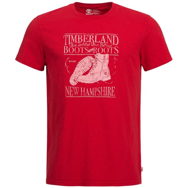 Timberland Boots and Roots Graphic Slub T-Shirt A1686-625