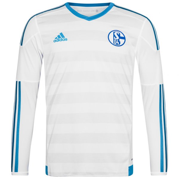 FC Schalke 04 adidas Auswärts Spielertrikot Player Issue Jersey S12374