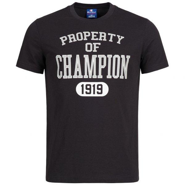 Champion Herren T-Shirt Property 1919 schwarz
