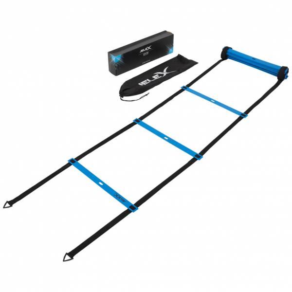 JELEX Ultra Speed 12 Felder Koordinationsleiter blau