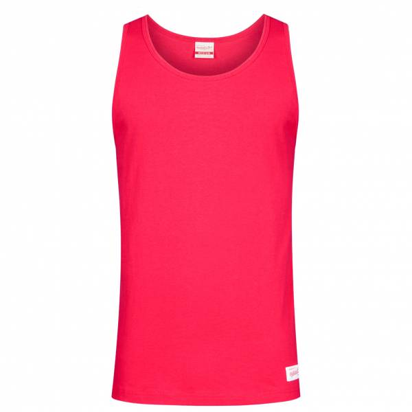 Mitchell & Ness Tank Hommes Haut sans manches TANKTEE-SCA-RED