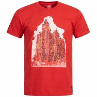 T-shirt de fan du Liverpool FC Warrior Graphic pour Homme, WSTM264-RD