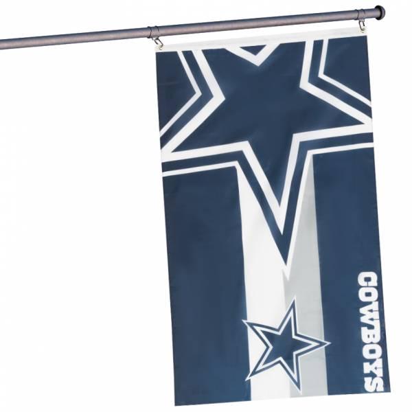 Cowboys de Dallas NFL Drapeau horizontal pour supporters 1,50 mx 0,90 m FLG53NFHORDC