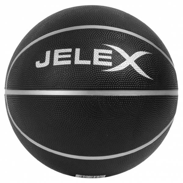 JELEX Sniper Ballon de basket noir-argent