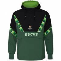 Mitchell & Ness Milwaukee Bucks NBA 1/2-Zip Jacke HFZPMG18020-MBUHNGN1