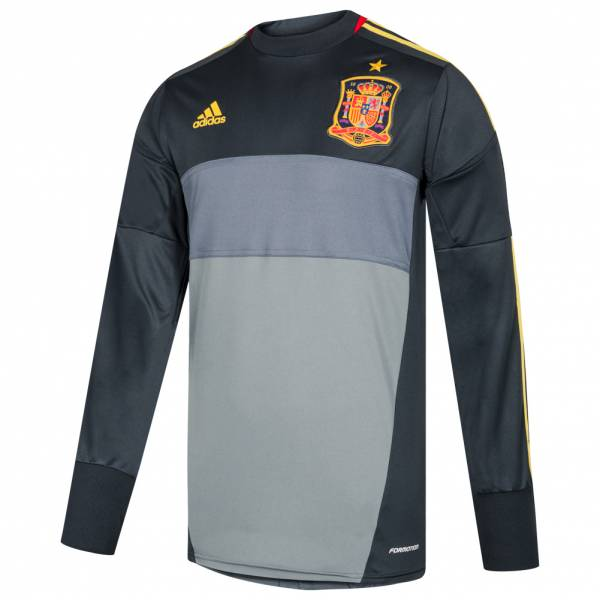 Spanien adidas Herren Torwart Trikot Player Issue X11843