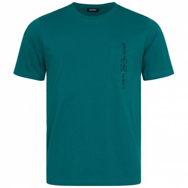 Diesel T-Just-Pocket Herren T-Shirt 00SH13 0BASU 5ID