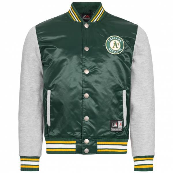 Oakland Athletics Majestic Athletic MLB Herren Jacke A6OAT5508GRN027