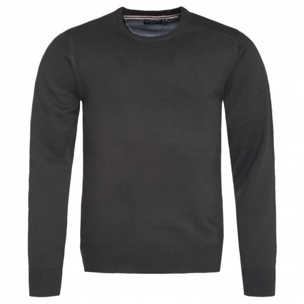 BRAVE SOUL Parsec Crew Neck Herren Sweatshirt MK-279PARSECX3 Black
