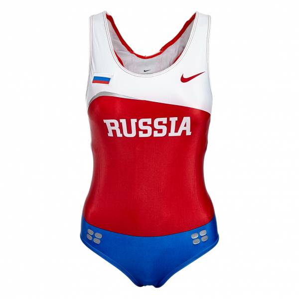 Nike Womens Leotard Athletics One Piece Russia 713655-611