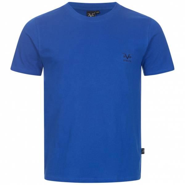 19V69 Versace 1969 Basic Logo Herren T-Shirt VI20SS0007B royal