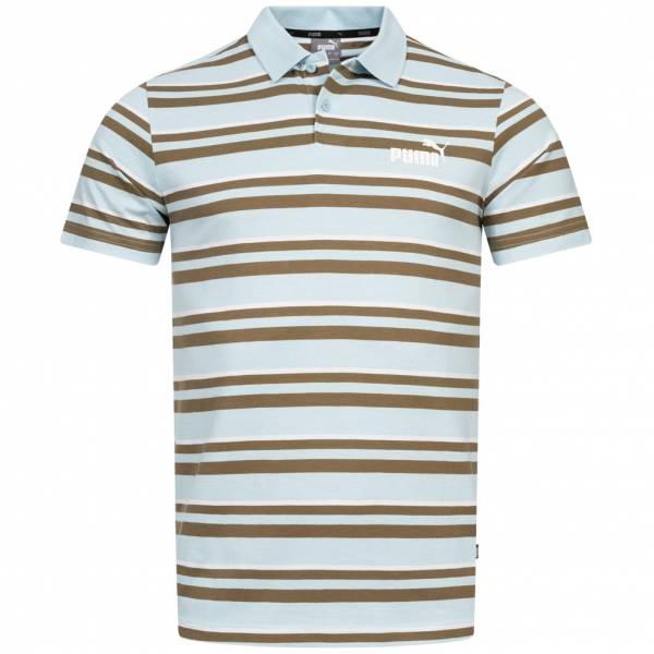 PUMA Essentials+ Stripe Jersey Herren Polo-Shirt 854261-18