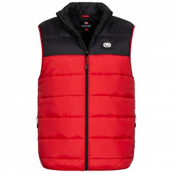Ecko Unltd. Lumber Herren Steppweste ESK04565 Black Red