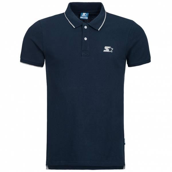 STARTER Herren Polo-Shirt Enhance blau