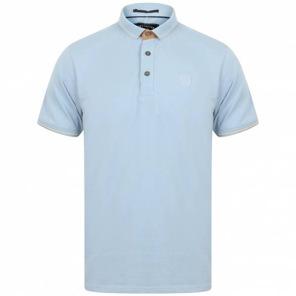 Kensington Eastside Prospect Cotton Herren Polo-Shirt 1X11176 Flacid Blue