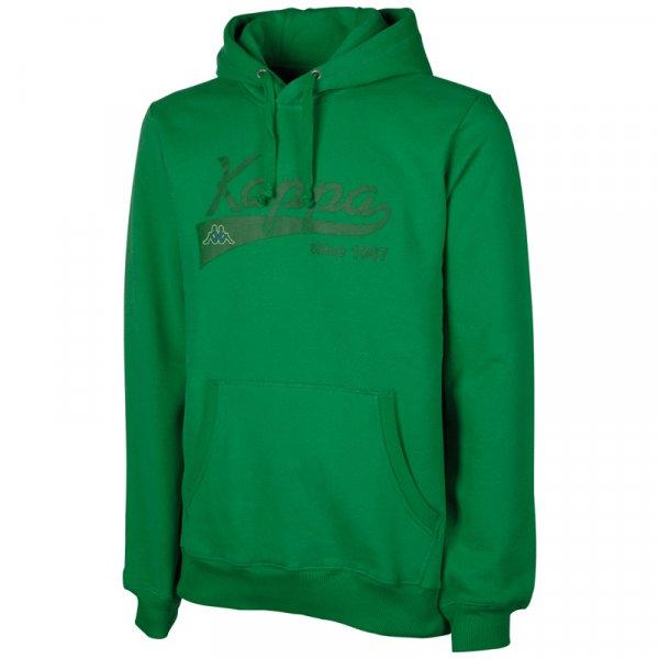 Kappa Hooded Sweatshirt Narkotio Herren Hoodie 302814-350 Kelly Green