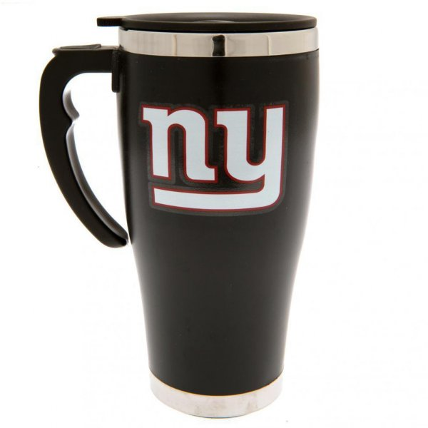 New York Giants NFL Foil Print Travel Mug Thermobecher MGNFLTRAVNG