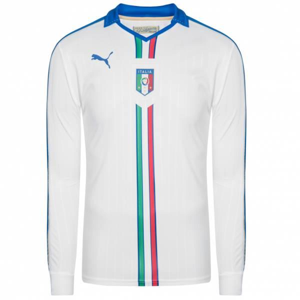 Italien PUMA Herren Auswärts Spieler Langarm Trikot 747410-02