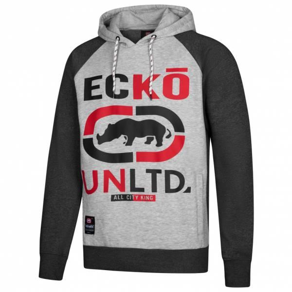 Ecko Unltd. Circuit Logo Hoody Herren Sweatshirt ESK4305 Heather Grey