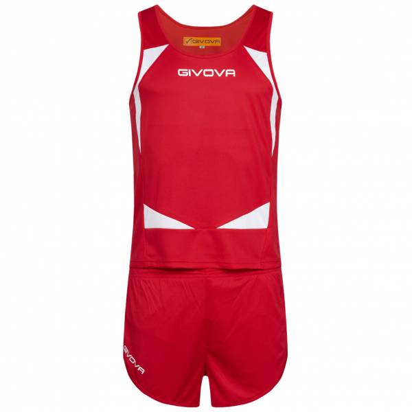Givova Kit Sparta Atletiek Set Singlet + Short KITA05-1203