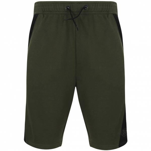 DNM Dissident Pakk Hombre Pantalones cortos de felpa 1G12848 Verde