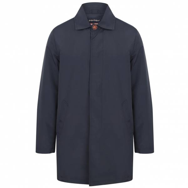 Tokyo Laundry Hallows Collared Trench Coat Men Jacket 1J10626 True Navy