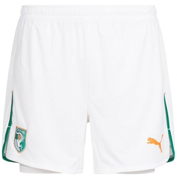 Elfenbeinküste PUMA Home Shorts mit Innenhose 739326-14