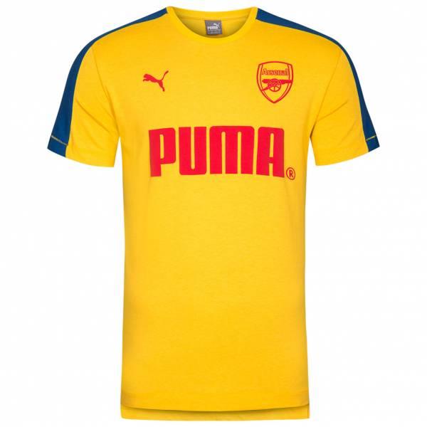 best sneakers a7dfe e77fe Arsenal FC London PUMA Tee Men's Fan T-Shirt 751980-11