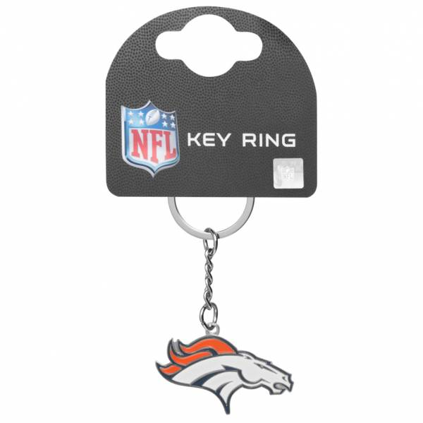 Denver Broncos NFL Wappen Schlüsselanhänger KYRNFLCRSDB