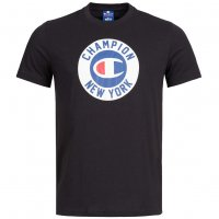 Champion Herren T-Shirt New York schwarz