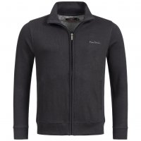 Pierre Cardin Herren Regular Fit Sweatjacke schwarz