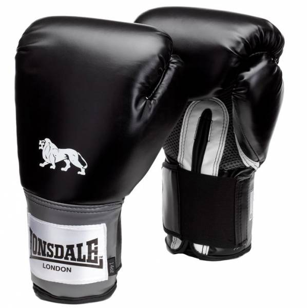 Lonsdale Pro Training Boxing Gloves black