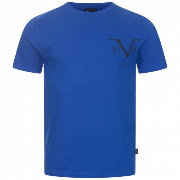 19V69 Versace 1969 Big Logo Herren T-Shirt VI20SS0010B royal
