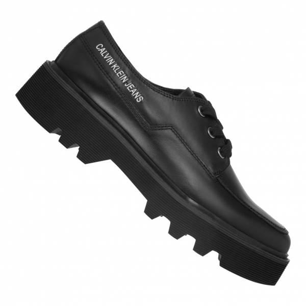 Calvin Klein Jeans Luisa Shiny Calf Damen Schuhe R0749BLK