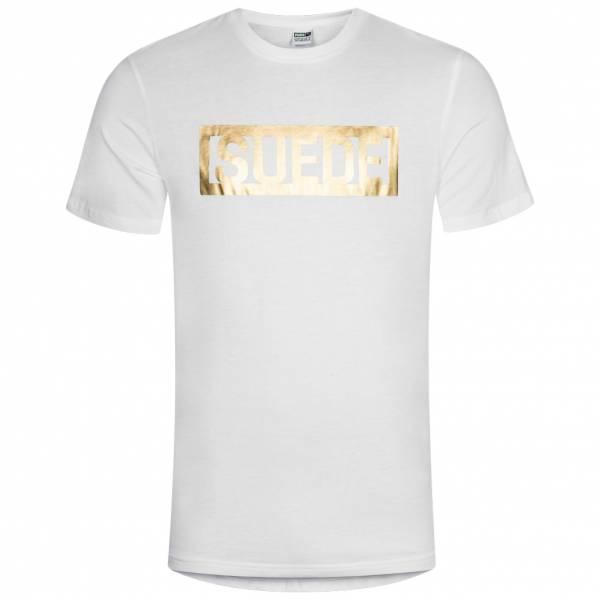 PUMA Suede Tee White Herren T-Shirt 594893-02