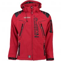 Geographical Norway Herren Softshell Jacke Tambour Red