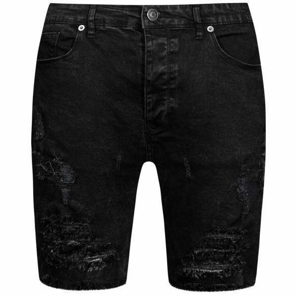 BRAVE SOUL Morton Denim Herren Jeans Ripped Shorts MSRT-MORTON