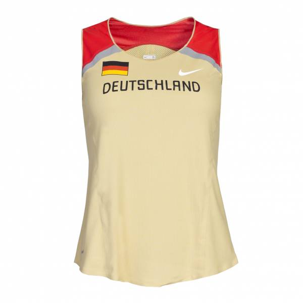 Camicia da running Nike DLV Women's Distance Singlet Athletics Germania 329839