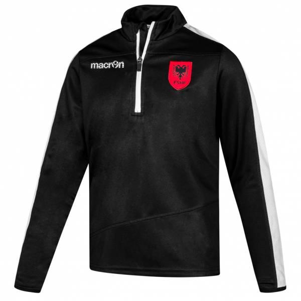 Albanien macron Jungen 1/4-Zip Trainings Sweatshirt 58089142