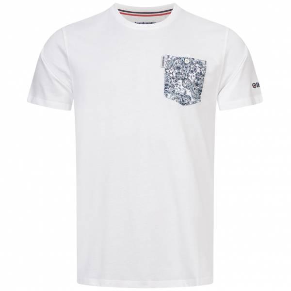 Lambretta Paisley Pocket Herren T-Shirt SS6277-WHITE