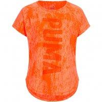 PUMA Dancer Burnout Tee Damen Fitness Shirt 514568-08
