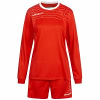Uhlsport Match Dames Voetbaltenue Shirt met lange mouw met Short 100316901