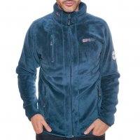 Geographical Norway Herren Fleece Jacke Upload WN005H Navy