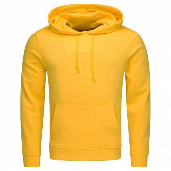 BRAVE SOUL Clarence Pullover Brushed Fleece Hoody MSS-131CLARENCEG Yellow