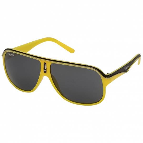 MSTRDS KMA Racer Shades UV400 Sport Sonnenbrille 10265 yellow black