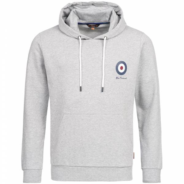 BEN SHERMAN Herren Hooded Kapuzen Sweatshirt 0058684LG-008 Light Grey
