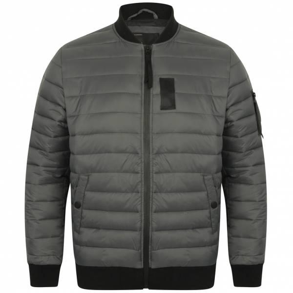 DNM Dissident Joliffe Quilted Jacket Herren Bomberjacke 1J9694 Graphite Grey