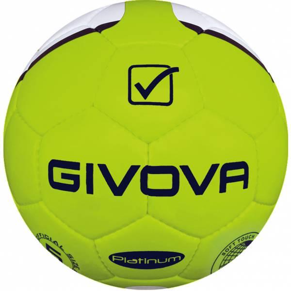 """Givova Fussball """"Platinum"""" neongelb/navy"""