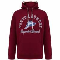 Tokyo Laundry Nocona Herren Kapuzen Sweatshirt 1D13724 Rio Red